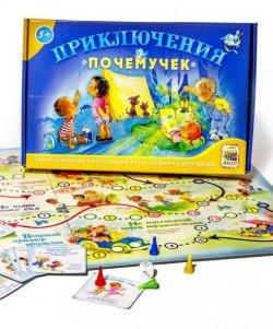 Настольная игра-ходилка для детей. Приключение почемучек