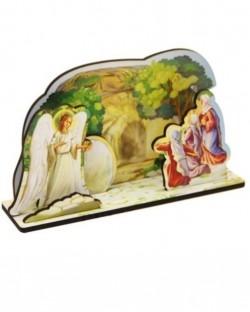 Пасхальный сборный сувенир. Ангел у пещеры