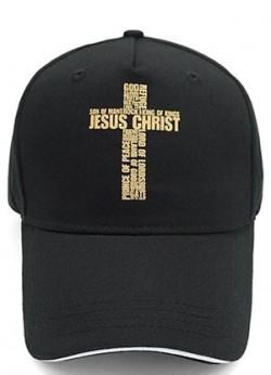 Кепка с крестом. Jesus Christ