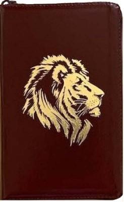 Библия. Синодальный перевод. Лев (055 Z) бордовый