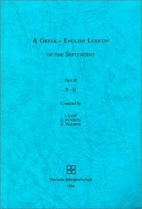 Словарь Септуагинты греко-английский. Часть 2