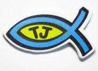 Набор Наклеек Jesus Team Рыбка