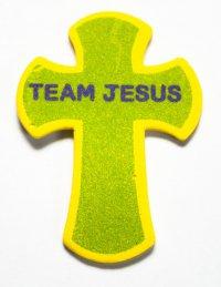 Набор Наклеек Jesus Team Крест