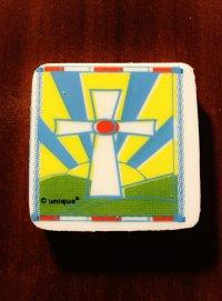 Крест. Стирательная резинка