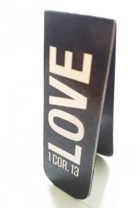 Магнитная закладка для книг. LOVE (Любовь)