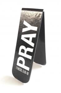 Магнитная закладка для книг. PRAY (Молитва)