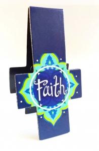 Магнитная закладка для книг в форме креста. FAITH (Вера)