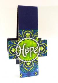 Магнитная закладка для книг в форме креста. HOPE (Надежда)