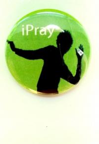 Значок. iPray (зелёный)