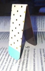 Магнитная закладка для книг. Узоры