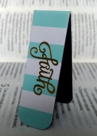 Магнитная закладка для книг. FAITH (Вера)