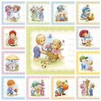 Набор детских визиток