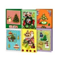 Набор для создания 6-ти открыток к Рождеству