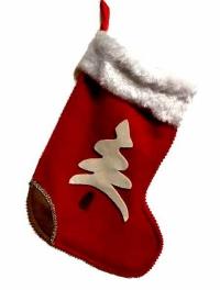 Рождественский сапожок (красный)