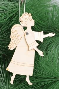 Подвеска на елку. Ангел