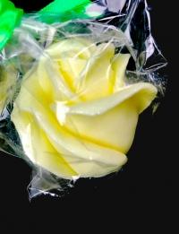 Мыло ароматизированное. Кремовый бутон розы