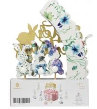 Комплект декоративных элементов для пасхальных угощений