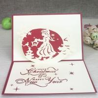 3D открытка «Merry Christmas»2