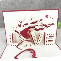 3D открытка «Love»