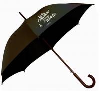 Зонт-трость. Есть спасение не только от дождя (черный)