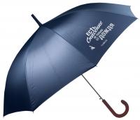 Зонт-трость. Есть спасение не только от дождя (синий)