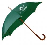 Зонт-трость. Есть спасение не только от дождя (зеленый)