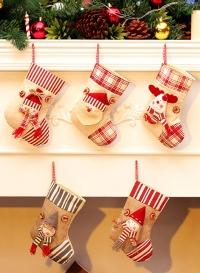 Рождественские носки. Набор из 5 штук