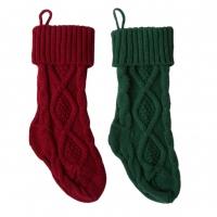 Рождественские носки. Набор из 2-х штук