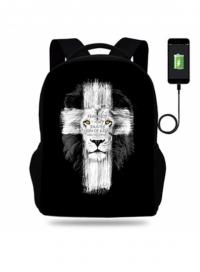 Рюкзак. Крест и лев