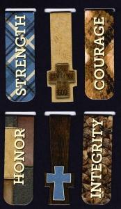 Набор магнитных закладок. Крест