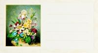 Набор визиток. Цветы