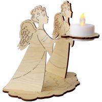 Сувенир с подсветкой. Ангелы (4 детали)
