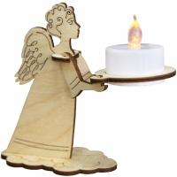 Сувенир с подсветкой. Ангел (6 деталей)